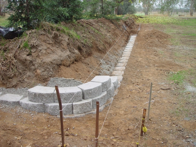 Backfill Retaining Wall With Gravel Mycoffeepot Org